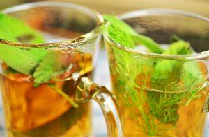 menta piperita tè